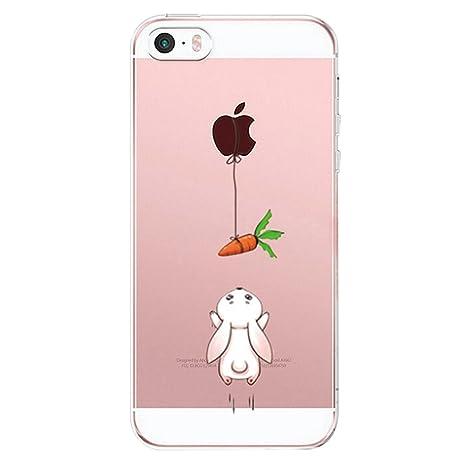 960d49e6929 Caler iPhone se móvil Suave Flexible de Silicona Funda De Móvil  Transparente Ultra Slim TPU Fina