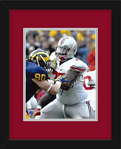 21a49e1b1 Mike Adams Autographed Ohio State Buckeyes 8x10 Photograph with Mat ...