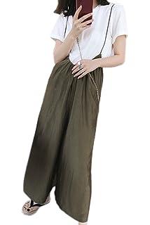 74c53bda1cf7 Vemubapis Womens Oversize Spaghetti Strap Romper Jumpsuits Wide Leg Pants