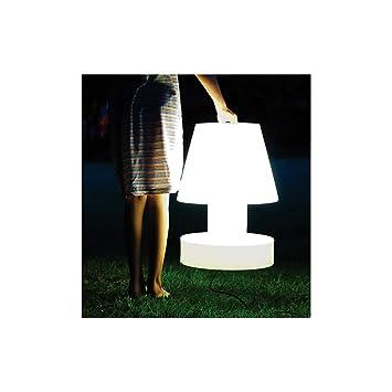 Bloom Lampe Portable 56 Cm Sans Fil Amazon Fr Jardin