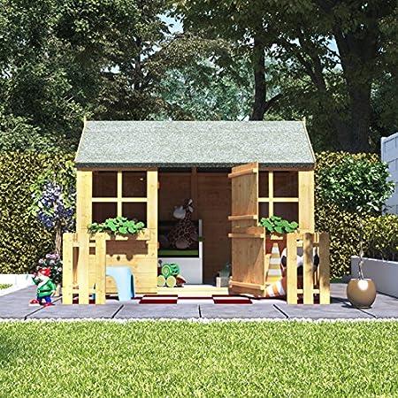 BillyOh - Casa de Juegos para niños (6 x 4 cm, Madera de Jengibre ...