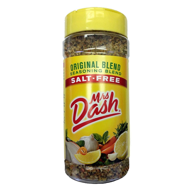 Mrs. Dash Original Seasoning, 6.75 oz, 191g (Pack of 2)