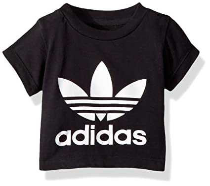 Amazon.com  adidas Originals Baby Boys Originals Trefoil Tee  Clothing 35615c684f60