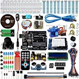 Smraza for Arduino UNO Starter Kit with Tutorials compatible with Arduino UNO R3, Mega2560 and NANO (26 Projects)