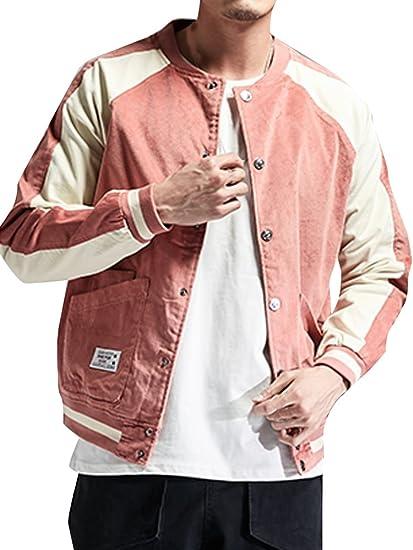 (ネルロッソ) NERLosso ブルゾン メンズ コーデュロイ ジャンパー スタジャン 大きいサイズ ミリタリージャケット ライダースジャケット 正規品 cmn24177