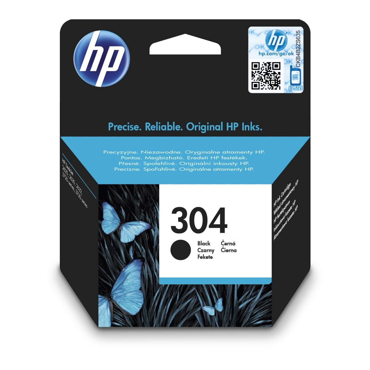 HP 304XL Inkjet / getto d'inchiostro Cartuccia originale Hewlett Packard N9K08AE