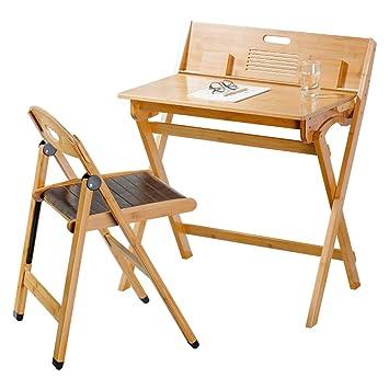 mesa plegable Ajustable Escritorio Plegable/Escritorio portátil de ...