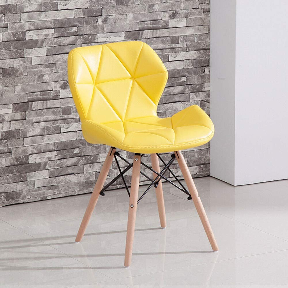 Paddia modern design dining chairs retro lounge chairs wood and pu leather lorenzo tulip chair midland oak furniture eiffel style dining wooden chairs wood