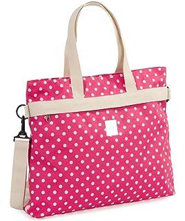 2e5a4418c3 Invicta College Shopper Borsa a Mano da Donna Ragazza a Spalla Shopping  Fashion Viaggio Rosa