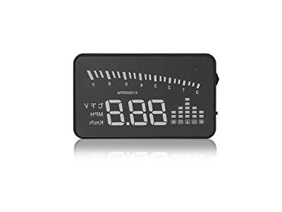 """Arpenkin HUD X5 OBD2 3"""" Universal Multi-Function Vehicle-Mounted Heads up Display"""