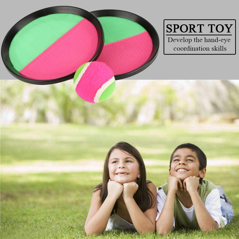 Fdit Werfen und fangen Ball Spiel aktivit/ät Kinder Sport Spielzeug Strand Outdoor Spiel Spielzeug Hause Familie Spielen lieferungen
