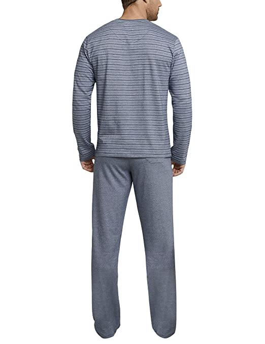 Schiesser Anzug Lang, Conjuntos de Pijama para Hombre: Amazon.es: Ropa y accesorios