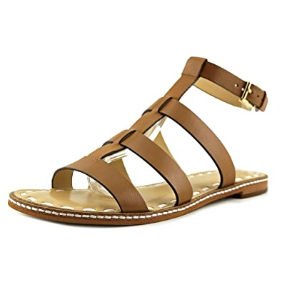 475a8a660f56 Michael Michael Kors Womens Fallon Leather Open Toe Casual Strappy Sandals   Amazon.co.uk  Shoes   Bags