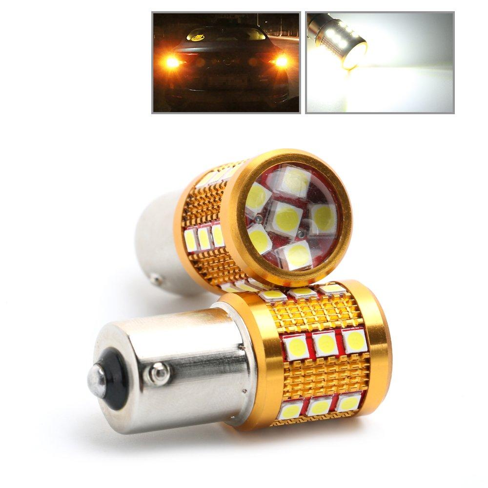 Rcj 1156 BA15s 3030 24 SMD P21 W 382 100 W CREE LED Lampadina 12 V DRL indicatori di direzione luce freno backup Tail Light bianco (confezione da 2)