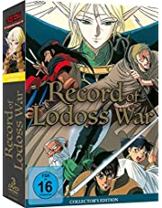 Record of Lodoss War - Gesamtausgabe - DVD Box (3 Discs) [Collector's Edition]