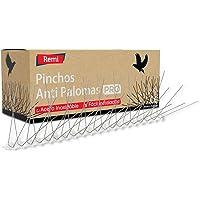 Remi Hogar Pack de 10 Metros de Pinchos Antipalomas | Púas para Palomas de Acero Inoxidable | Ahuyenta Palomas Efectivo…
