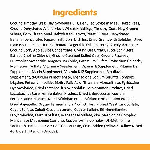 Image of Sunseed Vita Prima Sunscription Guinea Pig Food, High Fiber Timothy Formula - 8 Lbs Size