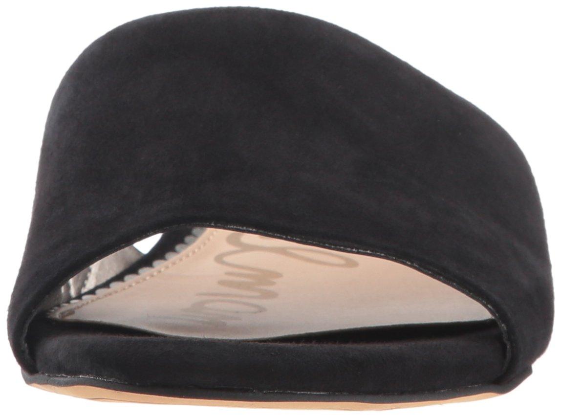 Sam Edelman Women's Liliana Slide Sandal B076T4RYZX 7 B(M) US Black Suede