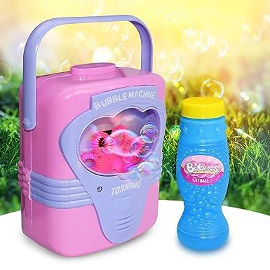 Amazon.com: Nivalkid Máquina de burbujas automática de ...