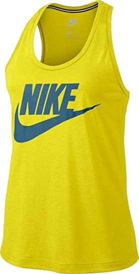 online retailer 01851 f9492 Nike - W NSW - Essntl Tank HBR - T-shirt sans manches - Femme