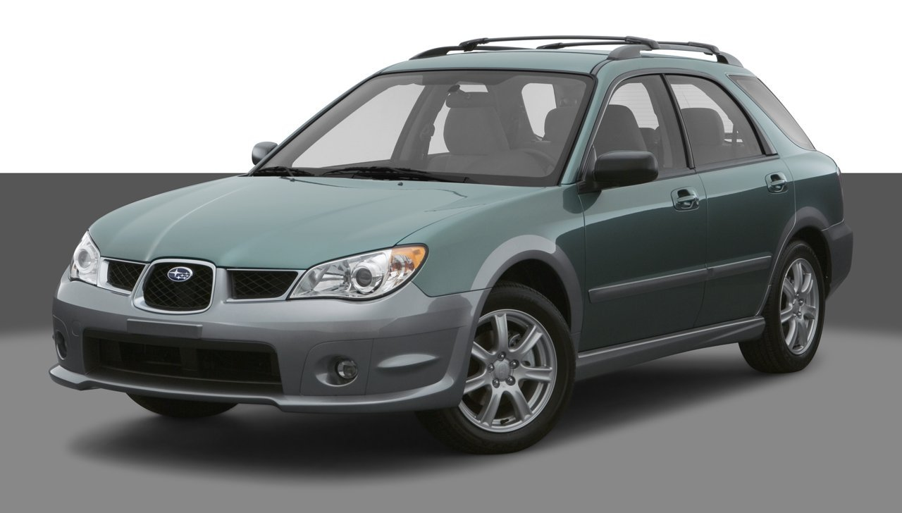 2007 subaru impreza outback sport sp edition 4 door 4 cylinder automatic transmission