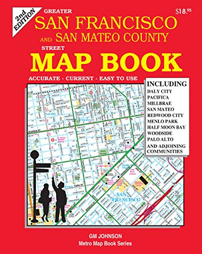 San Francisco & San Mateo Counties, California Map Book