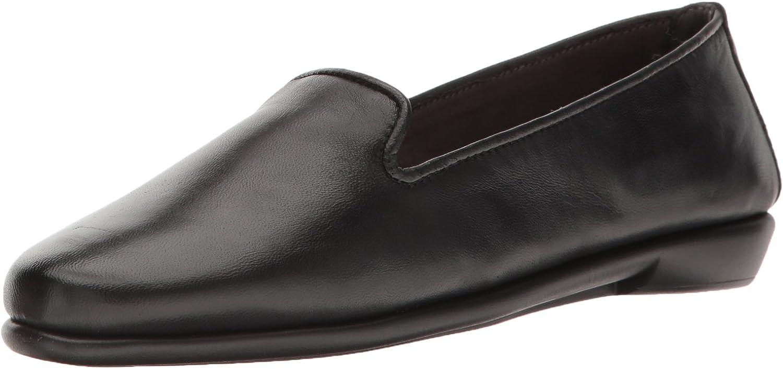 Aerosoles Women/'s Betunia Loafer Black Combo