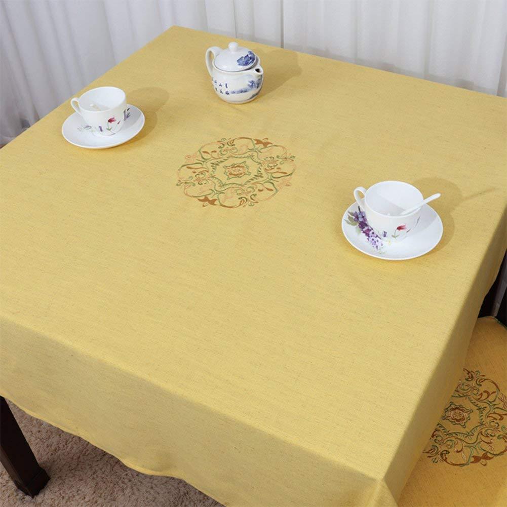 Shuangdeng 田舎のテーブルクロスファブリックTableclothTeaテーブルクロスデスクデスククロス (Color : G, サイズ : 90x150cm(35x59inch))   B07SDLPCW7