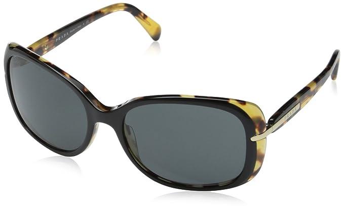 Amazon.com: Prada pr08os anteojos de sol, talla única ...