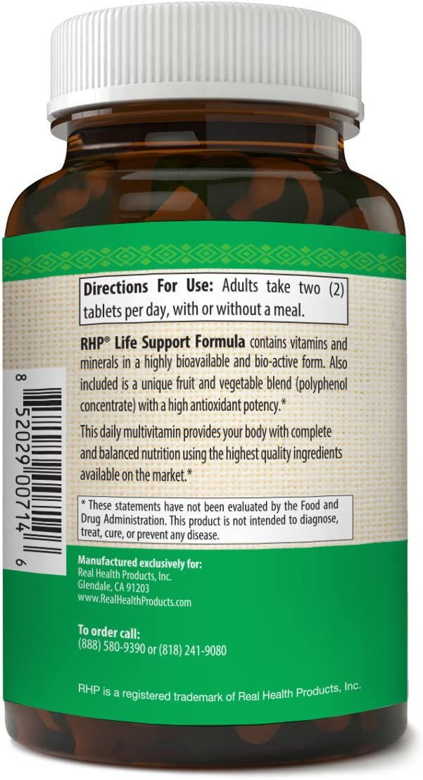 Wholefood Multivitamin for Men and Women – Plus Potent Antioxidant Blend