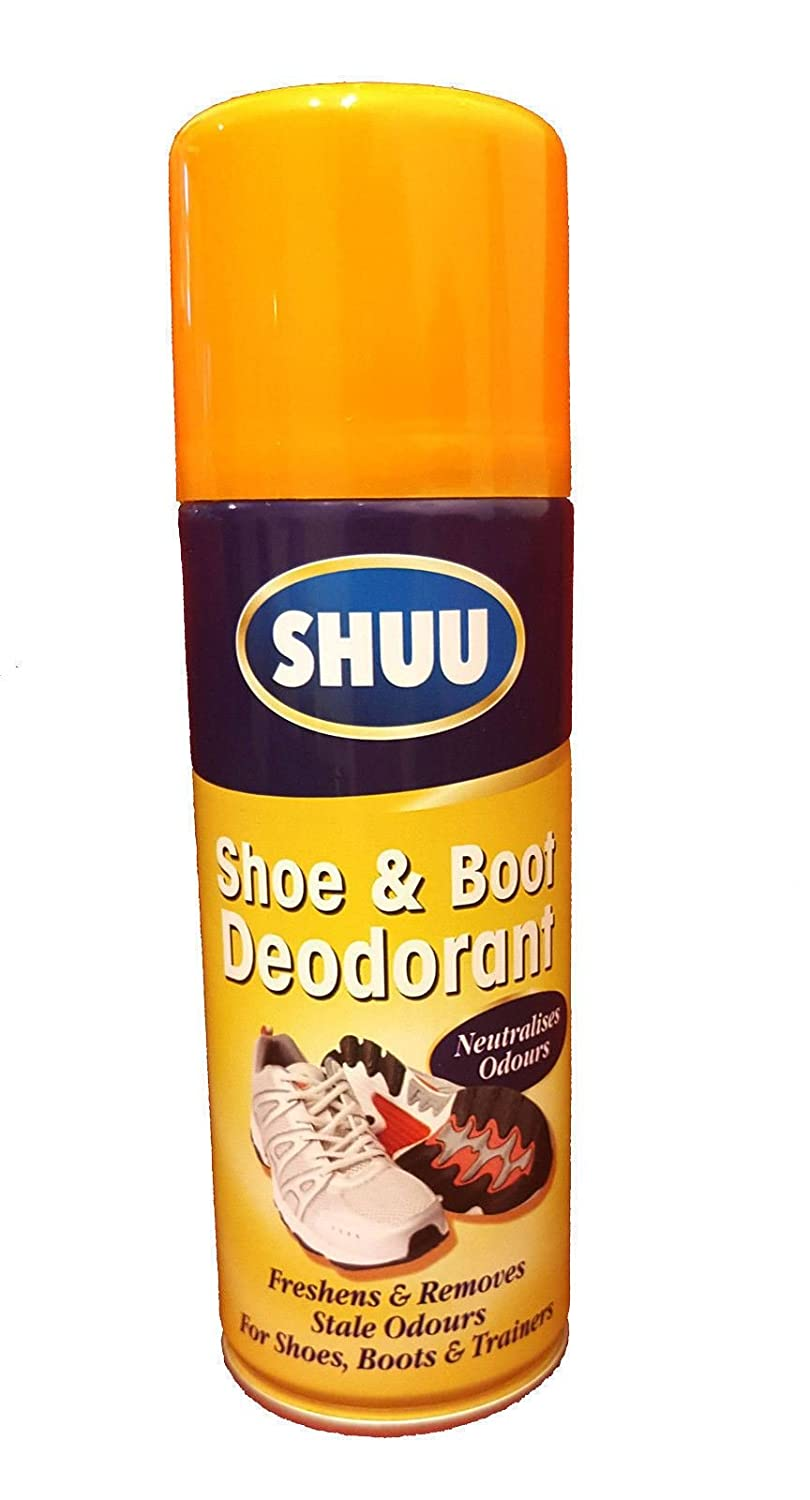 200ML Shoe Deodorant Spray Can For Shoe Boots & Trainers Neutralises Odour WS