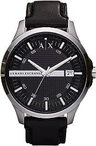Armani Exchange Gents Wrist Watch, Black AX2101