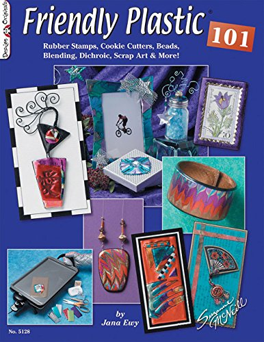 Friendly Plastic 101: Rubber Stamps, Cookie Cutters, Beads, Blending Dichric, Scrap Art & - Stamps Beads