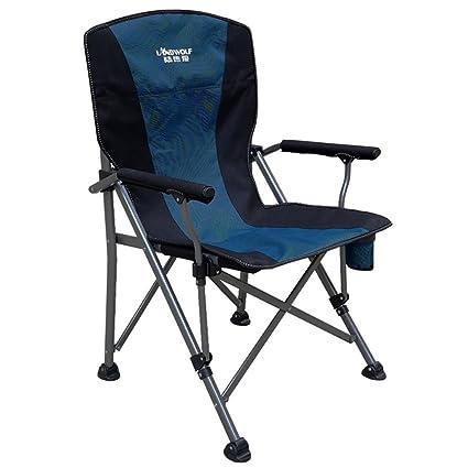 CUI XIA UK Camping chair Sillas Plegables al Aire Libre ...