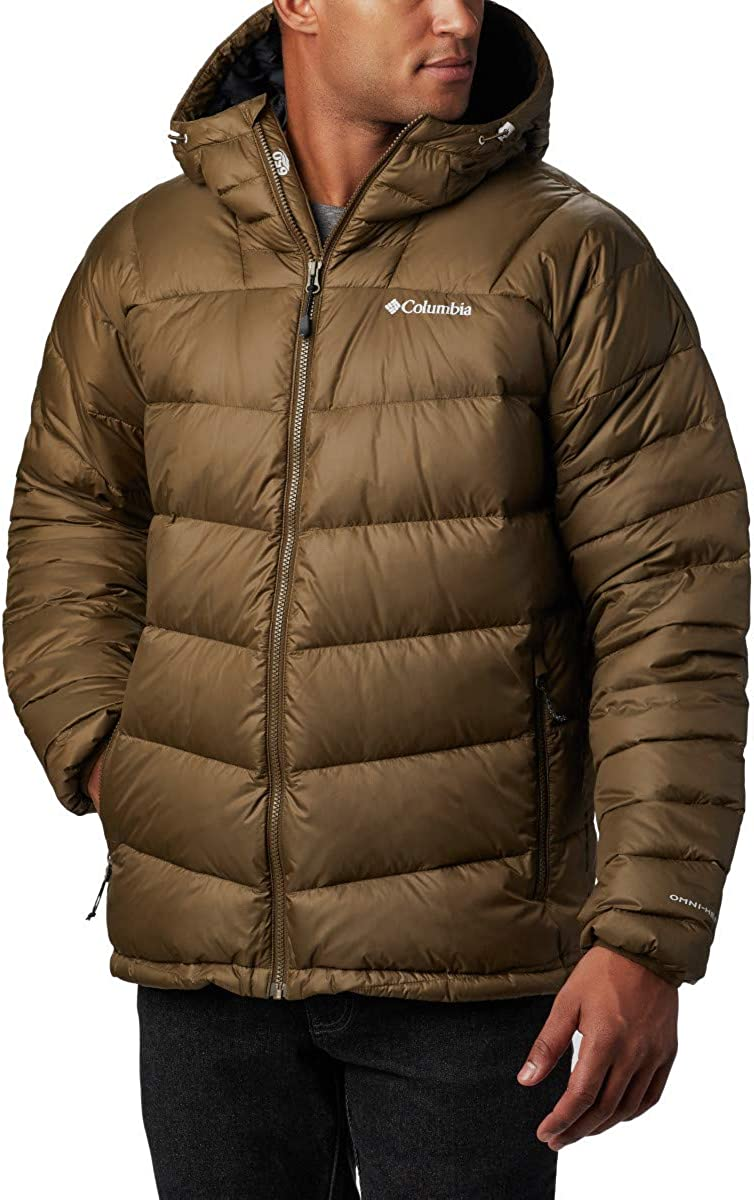 Columbia Men/'s Centennial Creek Down Hooded Winter Jacket Insulated Water Resistant