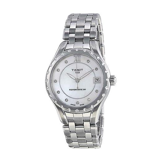 Tissot Reloj Analógico para Mujer de Automático con Correa en Acero Inoxidable T072.207.11.116.00: Amazon.es: Relojes