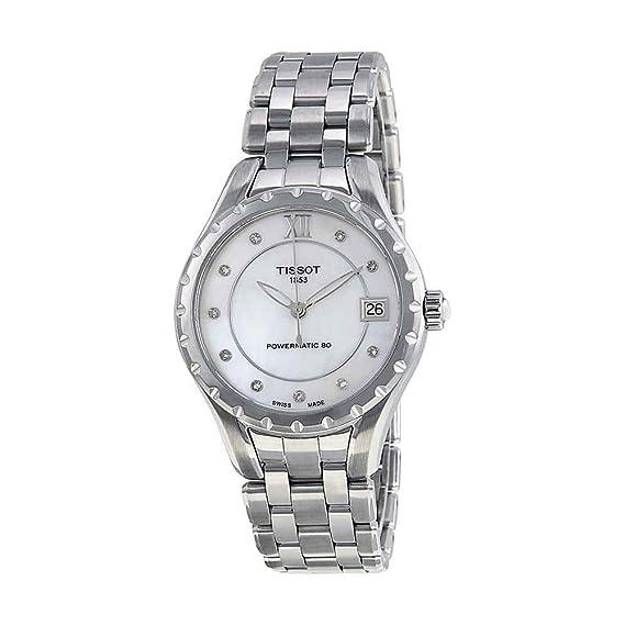 Tissot Reloj Analógico para Mujer de Automático con Correa en Acero Inoxidable T072.207.11.