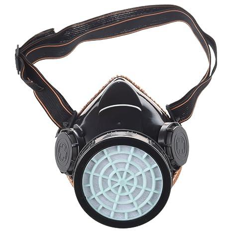 SODIAL(R) Mascara de seguridad respiradora Anti-polvo en un cartucho