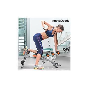 InnovaGoods IG115519 Banco de Musculación, Unisex Adulto, Negro, Talla Única: Amazon.es: Deportes y aire libre