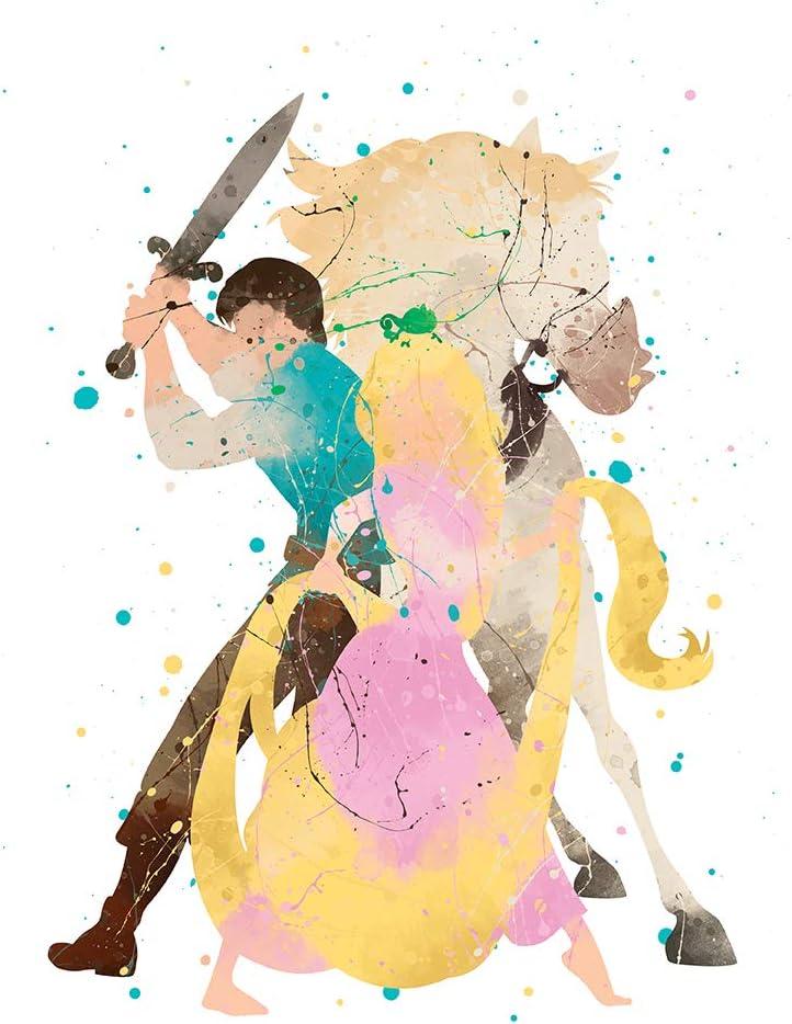 Olaf Frozen Wall Art Disney Watercolor Poster Nursery Room Print Gift UNFRAMED