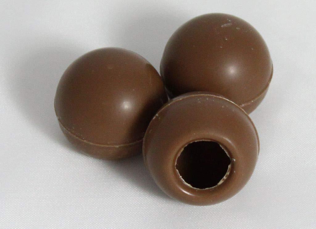 Callebaut - Bolas de chocolate (63 unidades, cuerpo hueco de ...