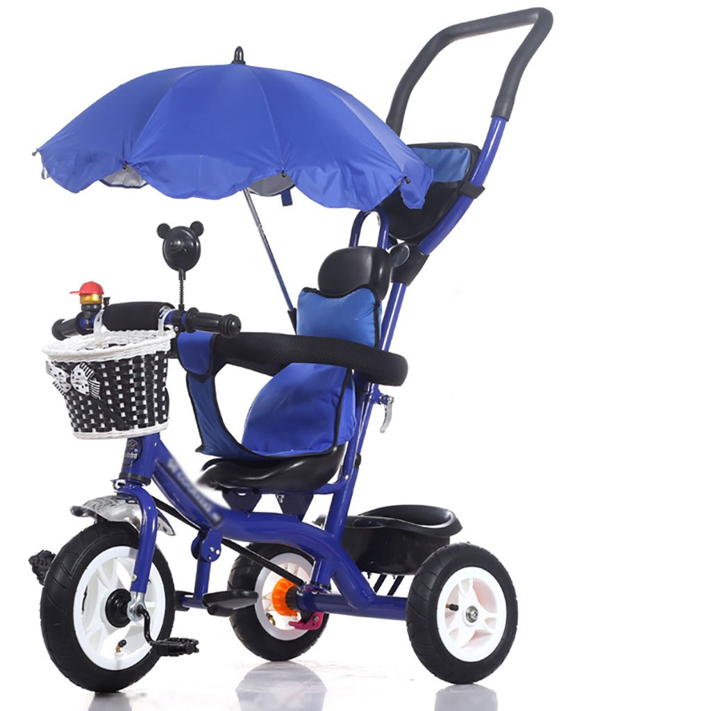 子供の三輪自転車/1-5歳のベビー/子供用自転車 (色 : E) B07DVFXLL7 E E