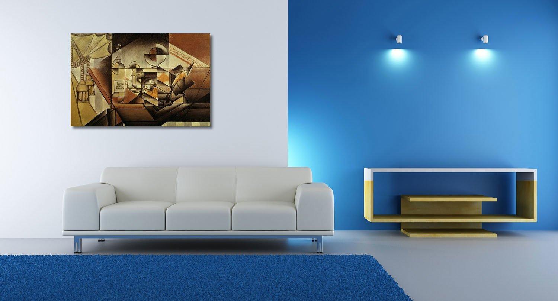 weewado Juan Gris - Composición con Reloj - Pintura 1912 ...
