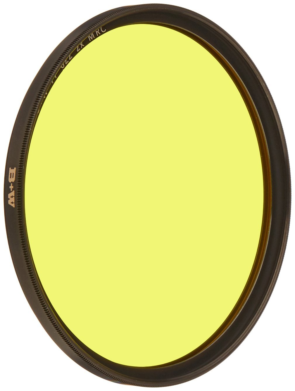 B+W 77mm Yellow Camera Lens Contrast Filter with Multi Resistant Coating (022M)