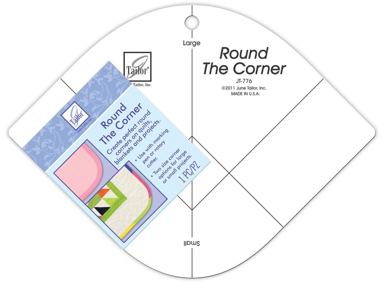 June Tailor Round the Corner Ruler by June Tailor   B008ADO0UA
