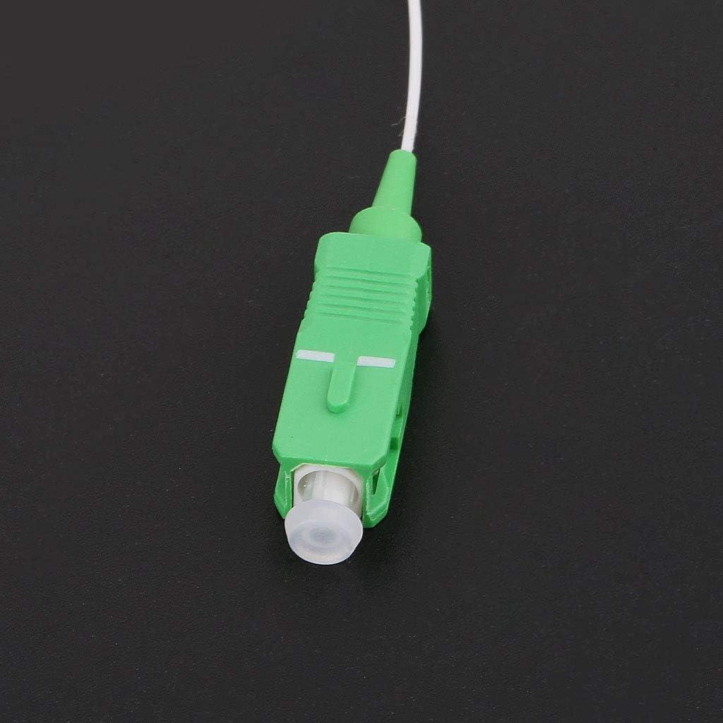 ESden SC//APC 0.9 mm 1x8 Mini connecteur diff/érentiel sans Bloc Fibre Optique PLC Splitter