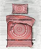 Ombre Mandala Twin Bedding Doona Duvet Covers By ''Handicraft-Palace'' , Bohemian Mandala Quilt Covers Set Indian Hippie Mandala With Two Pillow Covers