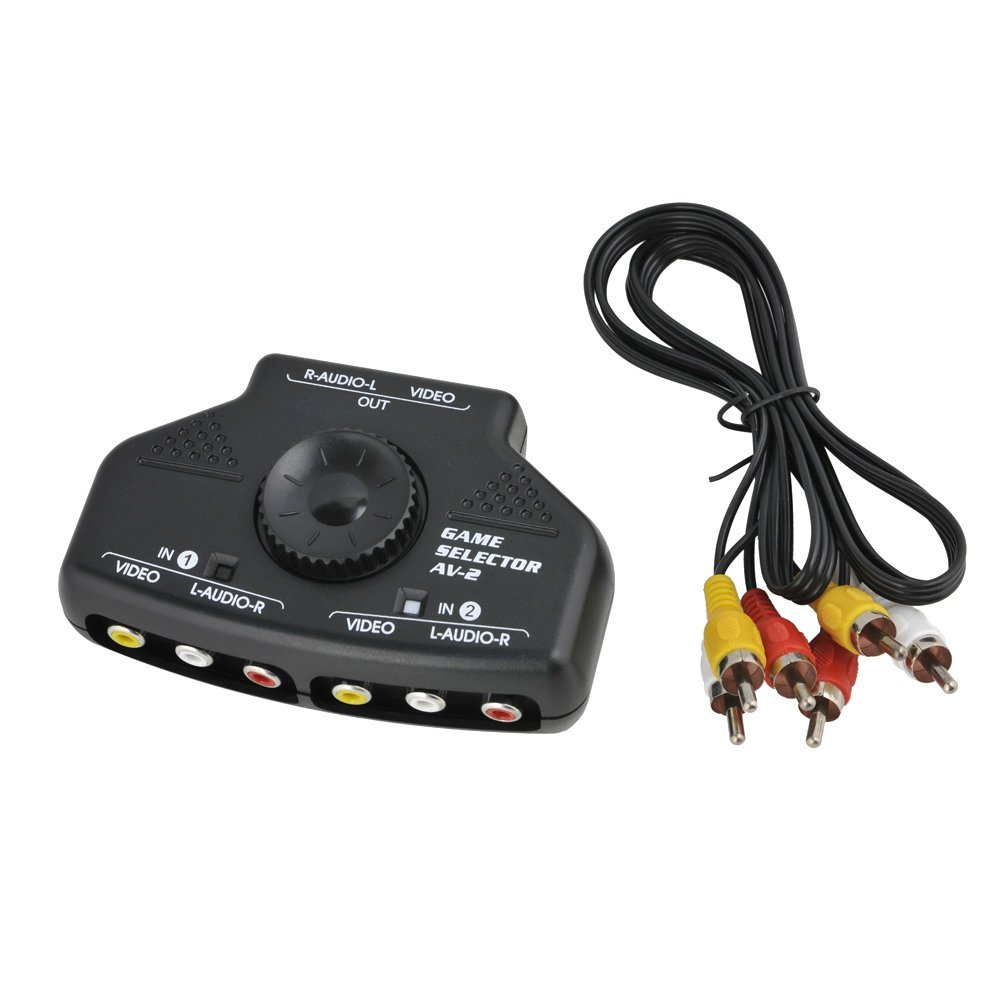 Amazon.com Optimal Shop- 2 Way Audio Video Switch Selector Box Splitter with RCA Cable for VCD / DVD / Video Camera / Recorder / Video Game Computers u0026 ...  sc 1 st  Amazon.com & Amazon.com: Optimal Shop- 2 Way Audio Video Switch Selector Box ... Aboutintivar.Com
