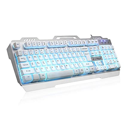 Amazon com: RGB Gaming Keyboard,Warwolf K12 USB Wired Gaming