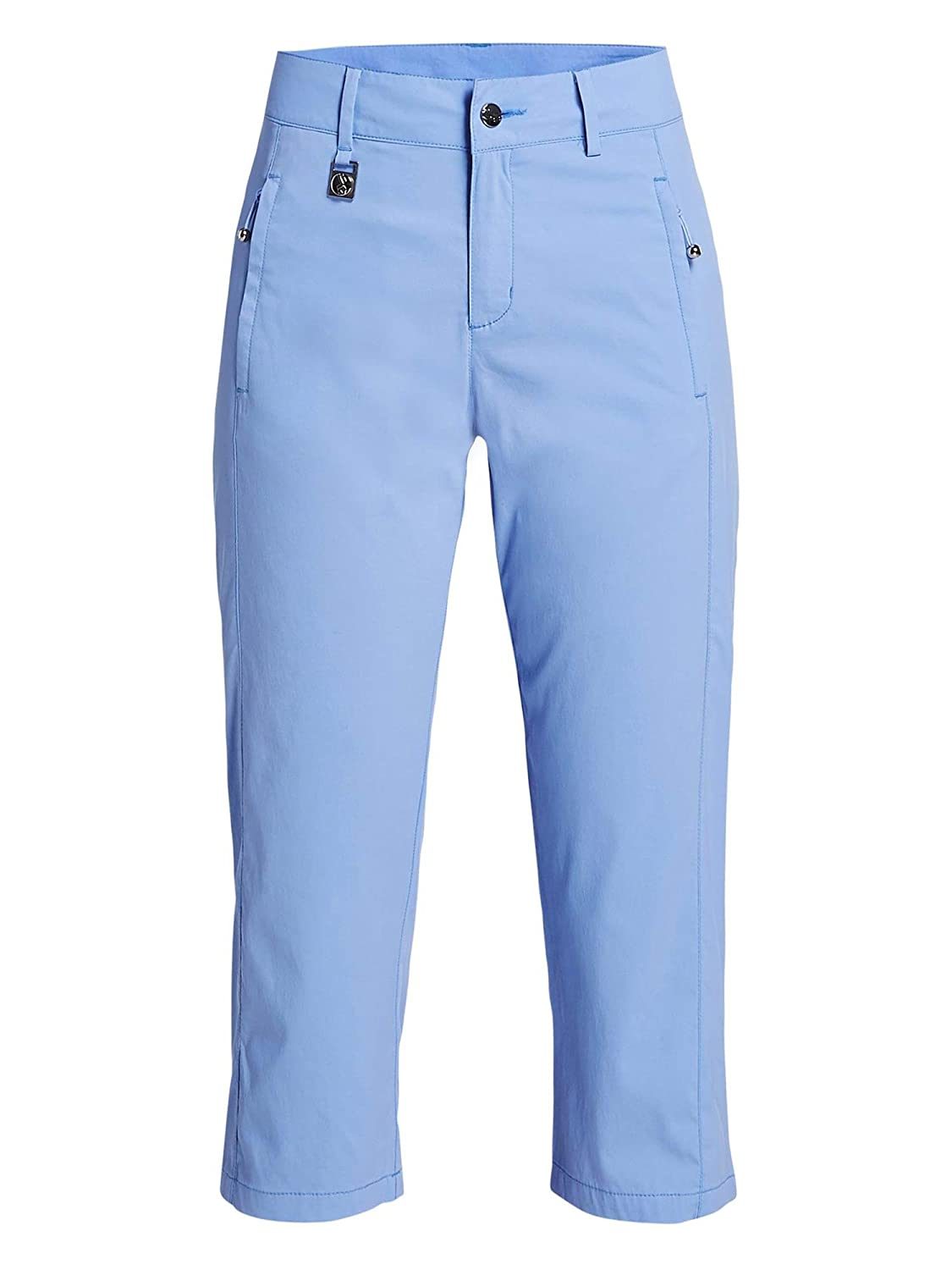 4f67983a86b4 Rohnisch Ladies Active Golf Capri Blue Shell-36: Amazon.co.uk: Clothing